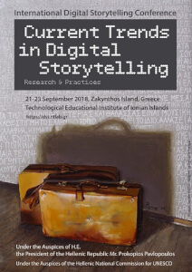 International Digital Storytelling Conference 2018